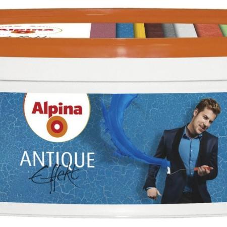 Alpina Effekt Antique декоративный кракелюрный лак 1л