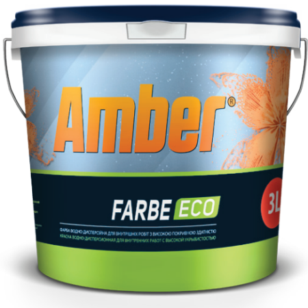Amber Farbe ECO латексная краска 10л