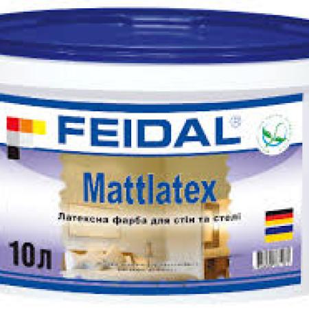 Feidal Mattlatex интерьерная латексная краска 10л