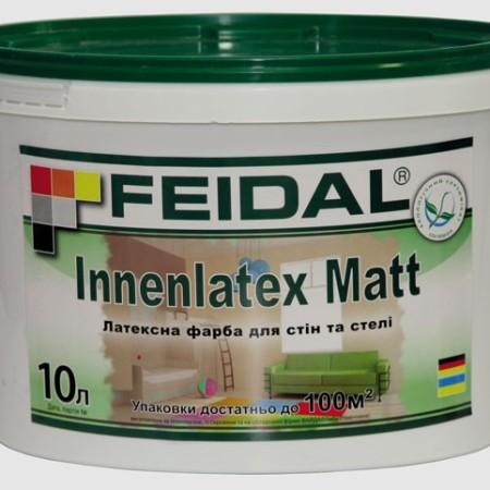 Feidal Innenlatex Matt интерьерная краска на латексной основе 10л