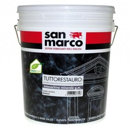 San Marco Intonachino minerale gmedia фактурная штукатурка 25кг