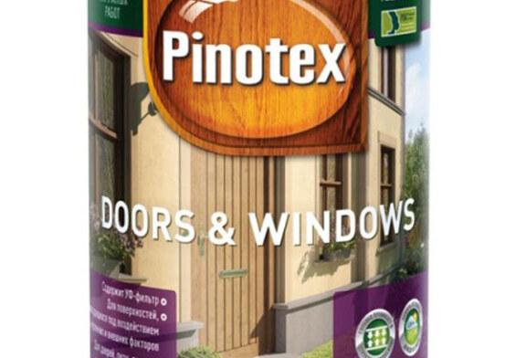 Pinotex Doors Windows