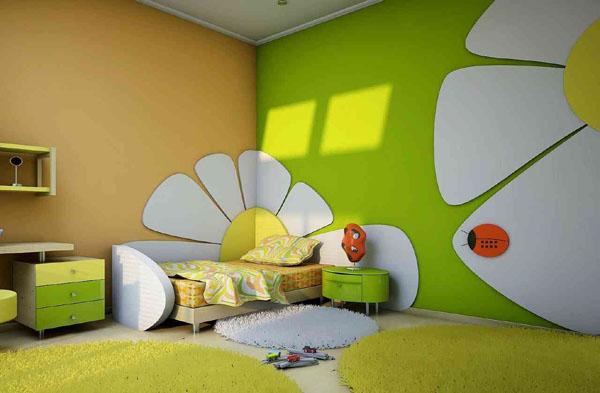 Цветовая гамма стен