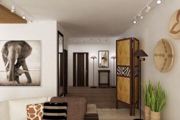 Африканский стиль: экспрессивно и просто