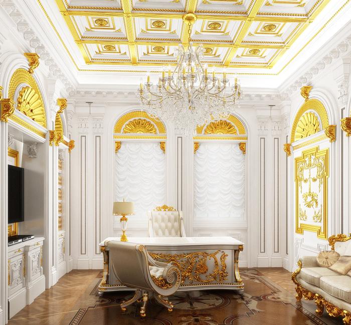 Кто сказал, что Рококо невозможно воссоздать в современной квартире?