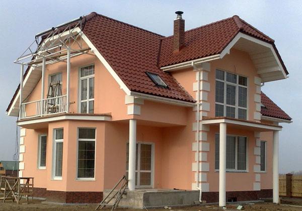 Покрасить фасад