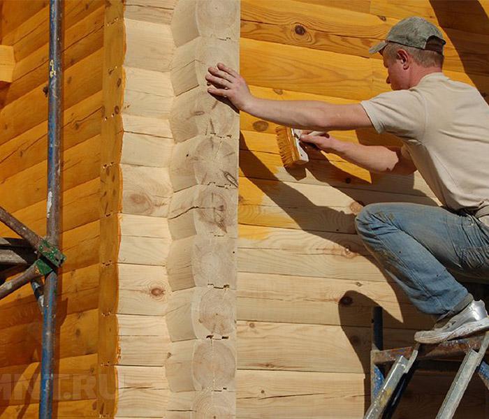 В чем заключается польза антисептиков для древесины?