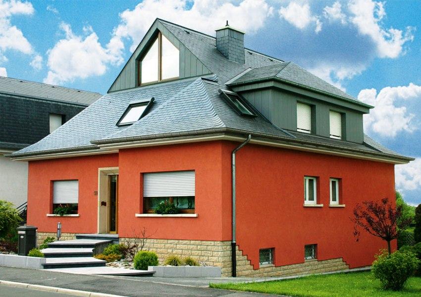 по-настоящему качественное терракотовый цвет фасада дома абсорбции