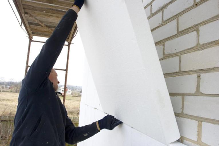 Утепление дома пенопластом снаружи своими руками