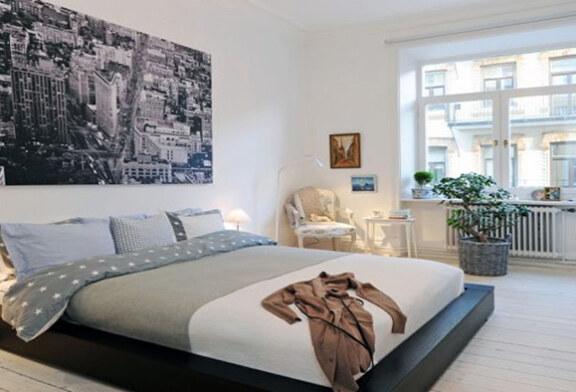 Как с помощью краски для стен сделать спальню уютной?