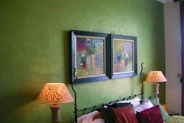 Стиль и нежность: эффект шелка на стенах