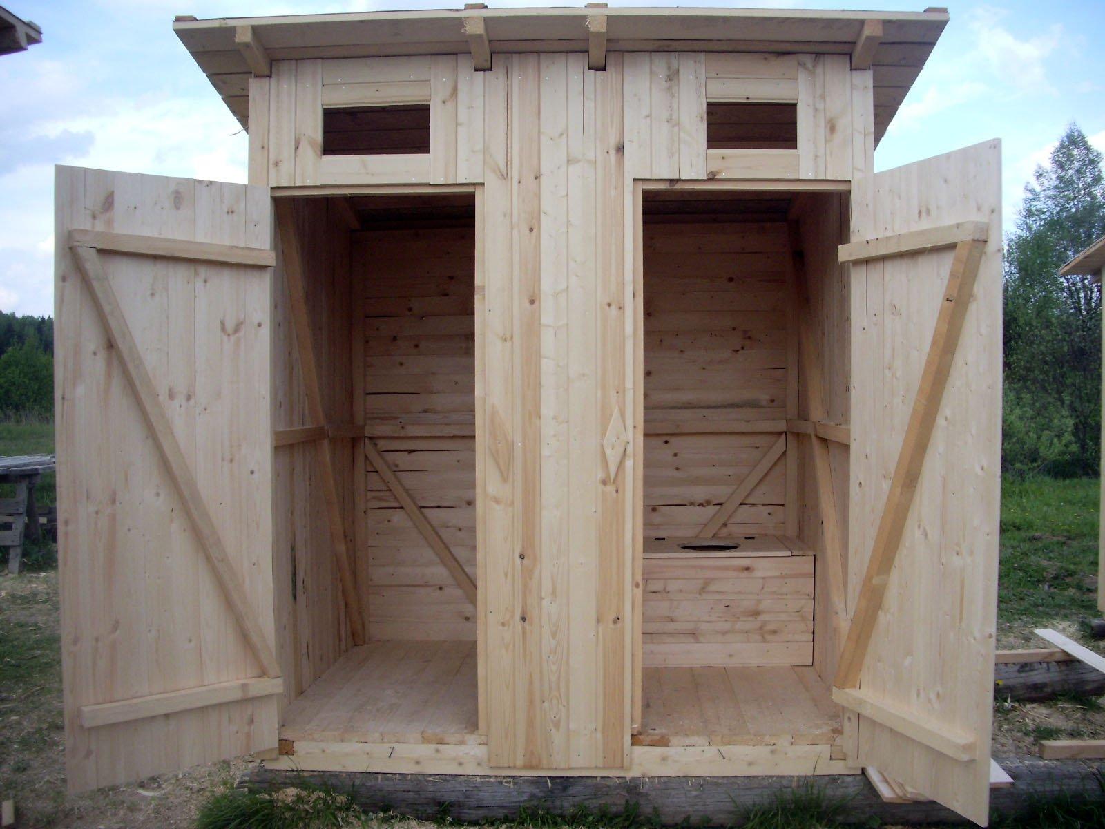 Душ и туалет на даче своими руками чертежи